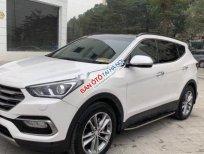 Cần bán gấp Hyundai Santa Fe AT đời 2016, màu trắng