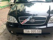 Bán xe Kia Carnival GS2.5AT sản xuất năm 2009, màu đen chính chủ, 268 triệu