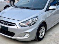 Bán Hyundai Accent 1.4 AT 2011, màu bạc, xe nhập