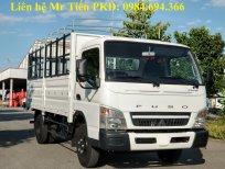 Bán xe tải Nhật Bản Mitsubishi Fuso 3.5 tấn thùng dài 4.35m, máy 145PS, đóng đủ loại thùng, hỗ trợ trả góp