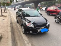 Cần bán lại xe Chevrolet Aveo LTZ 1.5 AT sản xuất 2015, màu đen