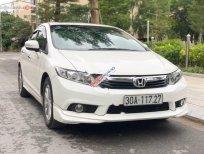 Cần bán xe Honda Civic 2.0 AT 2014, màu trắng, chính chủ, giá chỉ 575 triệu