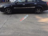 Xe Daewoo Lacetti năm sản xuất 2005, màu đen chính chủ, giá chỉ 116 triệu
