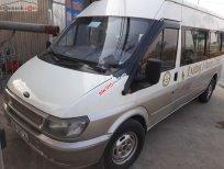 Cần bán lại xe Ford Transit 2.4L sản xuất 2005, màu trắng xe gia đình
