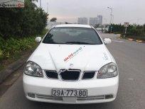 Cần bán xe Daewoo Lacetti đời 2005, màu trắng, số sàn