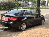 Bán Kia Cerato 1.6 AT 2011, màu đen, nhập khẩu nguyên chiếc số tự động