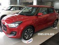 Cần bán xe Suzuki Swift GLX 2021, màu đỏ, nhập khẩu chính hãng, giá 509tr