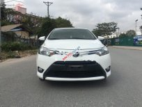 Bán xe Toyota Vios E MT đời 2016, màu trắng số sàn giá cạnh tranh