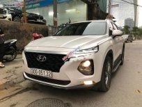 Cần bán lại xe Hyundai Santa Fe 2.4 AT năm 2019, màu trắng