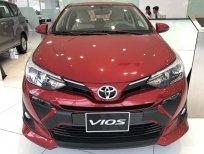 Bán xe Toyota Vios 1.5E CVT sản xuất 2020, màu đỏ, giá tốt