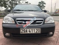 Cần bán lại xe Daewoo Lacetti EX 2011, màu đen số sàn, 210tr