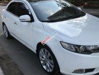 Cần bán lại xe Kia Forte SX 1.6 AT sản xuất 2011, màu trắng, giá chỉ 383 triệu