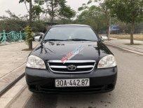 Cần bán gấp Daewoo Lacetti sản xuất năm 2008, màu đen xe gia đình