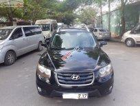 Bán Hyundai Santa Fe 2.0 EVGT SLX năm sản xuất 2009, màu đen, xe nhập