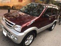 Cần bán gấp Daihatsu Terios MT 4WD đời 2006, màu đỏ