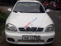 Cần bán xe Daewoo Lanos đời 2002, màu trắng, giá 65tr