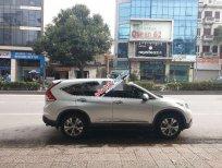 Cần bán Honda CR V 2.4AT sản xuất năm 2013, màu bạc