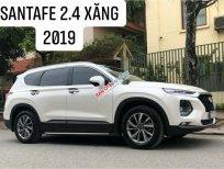 Cần bán lại xe Hyundai Santa Fe 2.4AT 2019, màu trắng