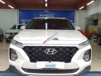 Bán xe Hyundai Santa Fe AT năm sản xuất 2019, màu trắng