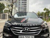 Bán xe Hyundai Santa Fe 2.2 CRDI đời 2018, màu đen