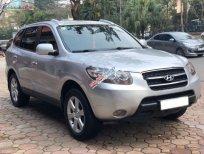 Cần bán xe Hyundai Santa Fe đời 2009, màu bạc, xe nhập chính chủ