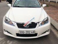 Cần bán gấp Lexus IS đời 2010, màu trắng, xe nhập chính chủ