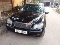 Cần bán gấp Mercedes C class năm 2003, màu đen, nhập khẩu