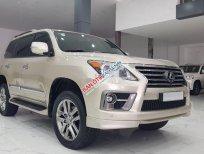 Cần bán xe Lexus LX570 sản xuất 2015, nhập khẩu nguyên chiếc, màu vàng cát