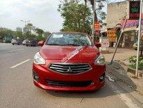 Cần bán xe Mitsubishi Attrage năm sản xuất 2015, màu đỏ, nhập khẩu nguyên chiếc, giá tốt