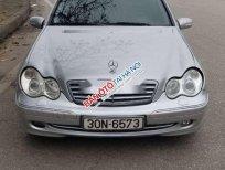 Bán xe Mercedes C class sản xuất năm 2003, màu bạc, xe nhập