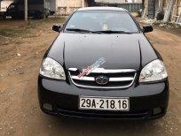 Bán ô tô Daewoo Lacetti sản xuất 2008, màu đen