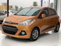 Cần bán gấp Hyundai Grand i10 đời 2016, màu nâu, nhập khẩu