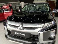 Cần bán xe Mitsubishi Triton 4x2 AT đời 2020, màu đen, nhập khẩu Thái