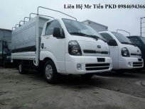 xe tải KIA K100 tải 1 tấn vào phố thùng 3.2m giá tốt, hỗ trợ trả góp