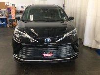 Bán ô tô Toyota Sienna Platinum Hybrid 2021, màu đen, xe nhập Mỹ, giá cạnh tranh