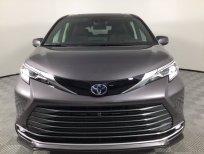 Cần bán xe Toyota Sienna Platinum Hybrid 2021, màu xám, nhập khẩu Mỹ