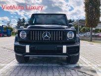 Bán Mercedes G63 màu đen, nội thất đỏ đen 2021