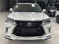 Bán Lexus Lx570 Super Sport 2021, màu trắng, nội thất nâu da bò, xe giao ngay.
