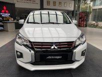 Cần bán Mitsubishi Attrage CVT đời 2021, màu trắng, xe nhập, 460 triệu