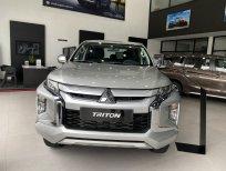 Bán xe Mitsubishi Triton 4x2 AT Mivec đời 2021, màu bạc, nhập khẩu giá cạnh tranh