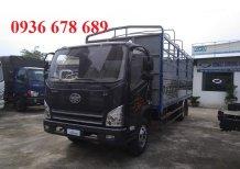 Hot... Hot... Xe tải Faw lắp động cơ Hyundai D4DB, tải trọng 7,3 tấn, thùng dài 6,25m, K/M khủng-Giá tốt