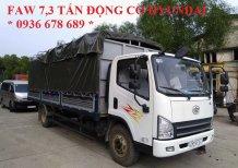 Bán xe tải GM FAW 7,3 tấn, động cơ Hyundai, thùng dài 6m25, giá rẻ nhất cả nước