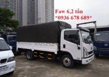 Cần bán xe FAW xe tải thùng sản xuất 2017, màu trắng