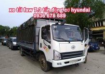 Xe tải FAW 7,3 tấn đời mới, động cơ Hyundai nhập Hàn Quốc, thùng dài 6m25, giá rẻ nhất