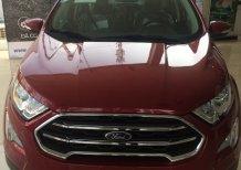 Cần bán xe Ford EcoSport 1.0L Ecoboost AT sản xuất 2019, màu đỏ, 655tr