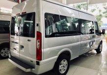 Cần bán Ford Transit Luxury 2020, màu trắng, 715 triệu giao cùng cùng khuyến mãi hấp dẫn
