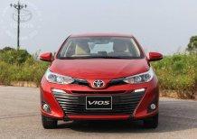 Cần bán xe Toyota Vios 1.5G 2020, màu đỏ, giao ngay. Giá ưu đãi, trả góp 80%, KM hấp dẫn