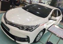 Cần bán xe Toyota Corolla altis 1.8E CVT sản xuất 2019, màu trắng giá cạnh tranh