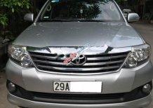 Cần bán Toyota Fortuner 2.7V 4x2 AT sản xuất năm 2012, màu bạc chính chủ, 578 triệu