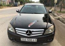 Cần bán gấp Mercedes C200 Avantgarde năm sản xuất 2008, màu đen